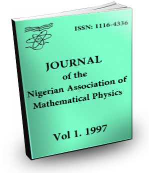 Vol1. Journal of the Nigerian Association of Mathematical Physics