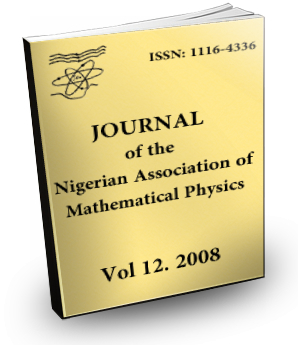 Volume 12 Journal Nigerian Association of Mathematical physics