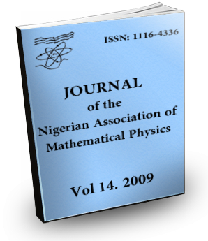 Volume 14 Journal of the Nigerian Association of Mathematical Physics