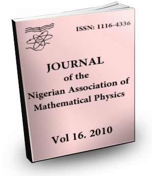 Volume 16 Journal Nigerian Association of Mathematical physics