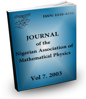 Volume 7 Journal Nigerian Association of Mathematical physics