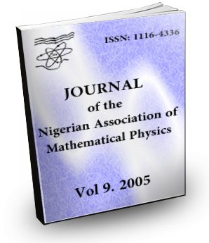Volume 9 Journal Nigerian Association of Mathematical physics