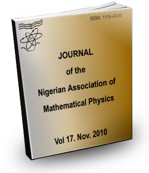 Volume 17 Journal Nigerian Association of Mathematical physics
