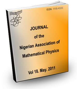 Volume 18 Journal Nigerian Association of Mathematical physics