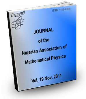 Volume 19 Journal Nigerian Association of Mathematical physics
